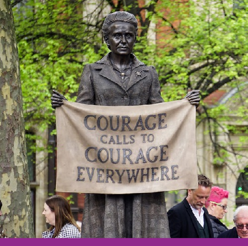 Statue of Millicent Fawcett