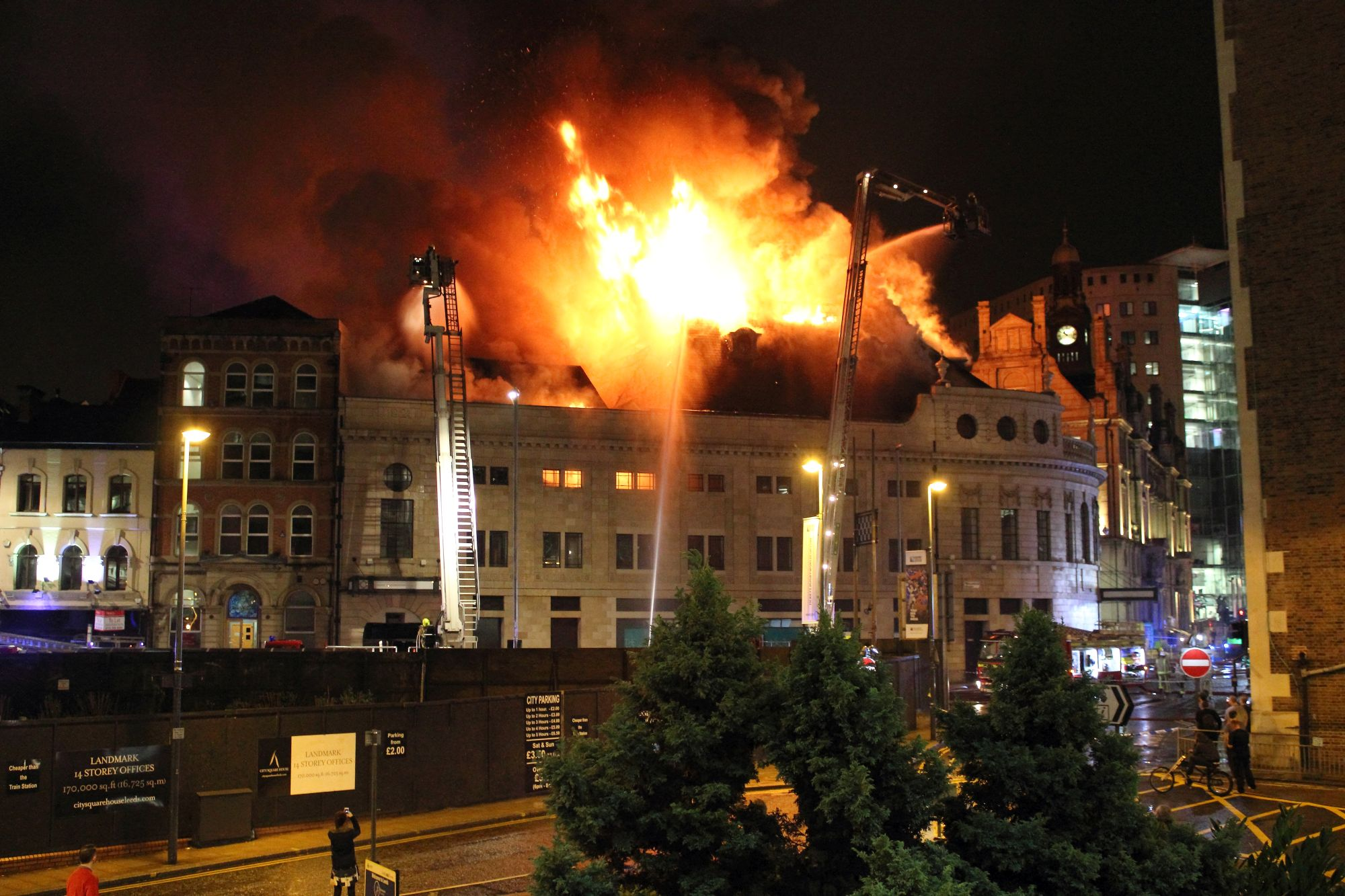The Majestic Leeds Fire