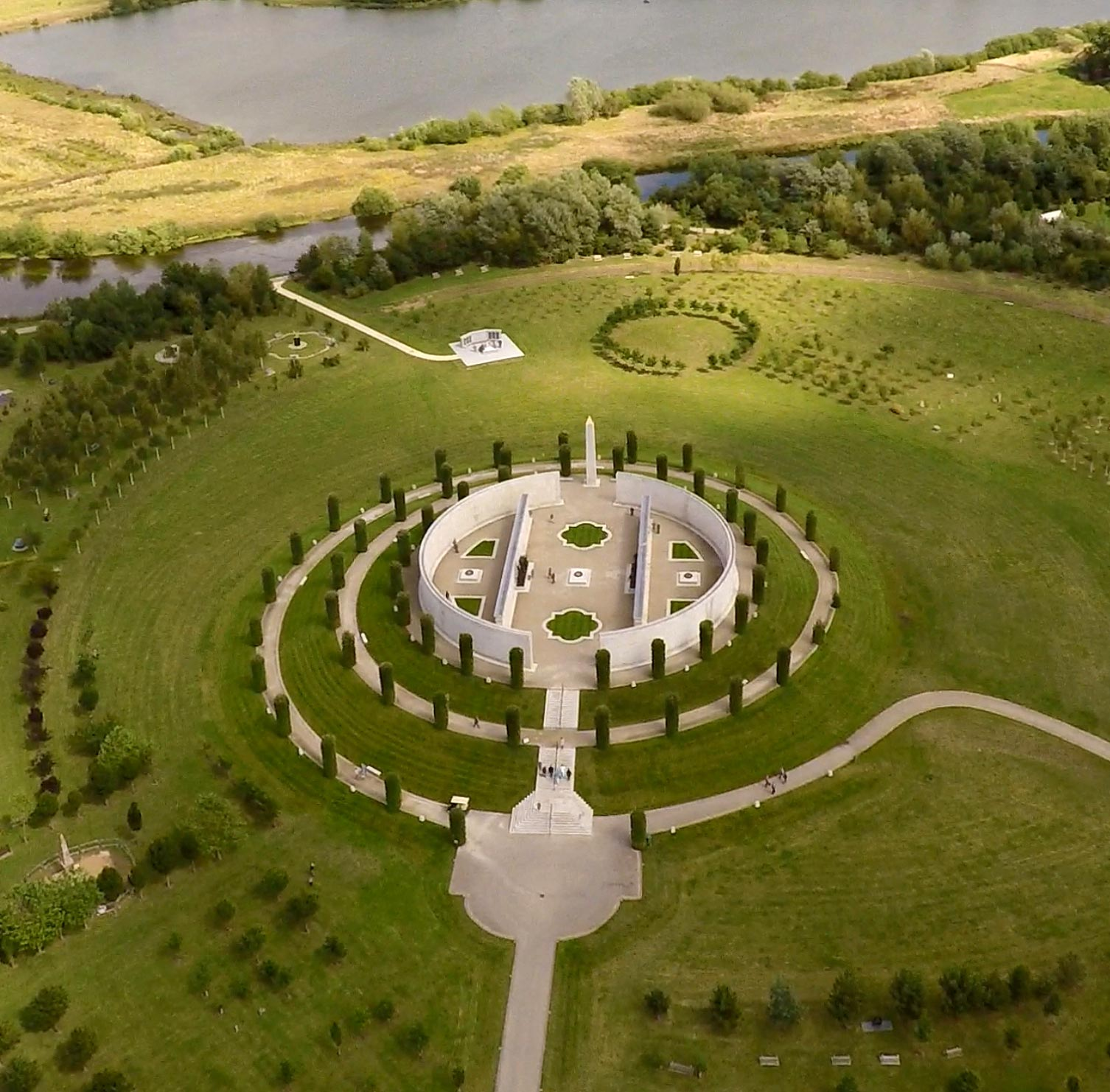 Roger Bullivant Limited - National Memorial Arboretum Aerial View