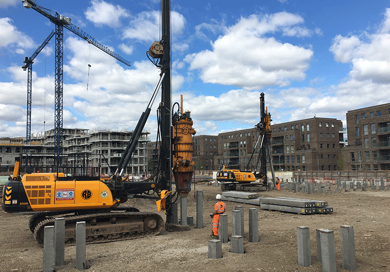 Roger Bullivant - Driven Tubular Steel Piles